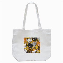 Cats Pattern Tote Bag (white) by Valentinaart