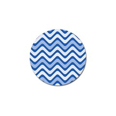 Waves Wavy Lines Pattern Design Golf Ball Marker (10 Pack) by Amaryn4rt