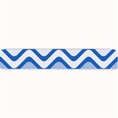Waves Wavy Lines Pattern Design Small Bar Mats by Amaryn4rt