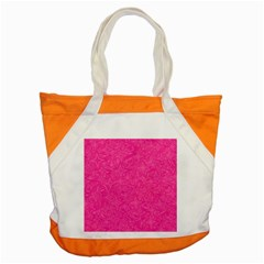 Geometric Pattern Wallpaper Pink Accent Tote Bag by Amaryn4rt