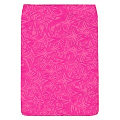 Geometric Pattern Wallpaper Pink Flap Covers (s)  by Amaryn4rt