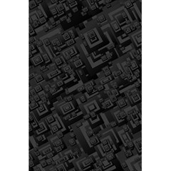 Black Rectangle Wallpaper Grey 5 5  X 8 5  Notebooks by Amaryn4rt