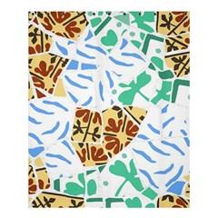 Broken Tile Texture Background Shower Curtain 60  X 72  (medium)  by Amaryn4rt