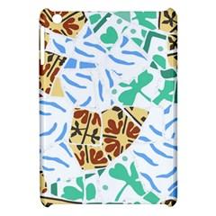 Broken Tile Texture Background Apple Ipad Mini Hardshell Case by Amaryn4rt
