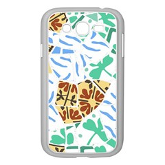 Broken Tile Texture Background Samsung Galaxy Grand Duos I9082 Case (white) by Amaryn4rt