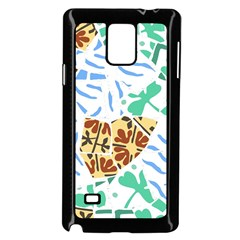 Broken Tile Texture Background Samsung Galaxy Note 4 Case (black) by Amaryn4rt