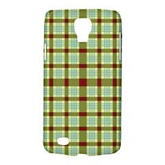 Geometric Tartan Pattern Square Galaxy S4 Active by Amaryn4rt