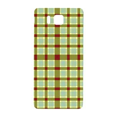 Geometric Tartan Pattern Square Samsung Galaxy Alpha Hardshell Back Case by Amaryn4rt