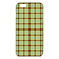 Geometric Tartan Pattern Square Iphone 6 Plus/6s Plus Tpu Case by Amaryn4rt