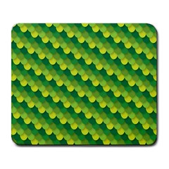 Dragon Scale Scales Pattern Large Mousepads by Amaryn4rt