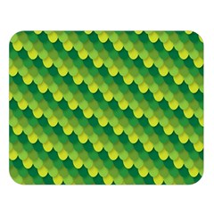 Dragon Scale Scales Pattern Double Sided Flano Blanket (large)  by Amaryn4rt