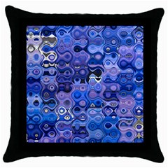 Background Texture Pattern Colorful Throw Pillow Case (black) by Amaryn4rt