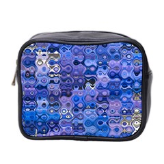 Background Texture Pattern Colorful Mini Toiletries Bag 2 Side by Amaryn4rt