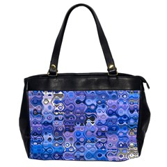 Background Texture Pattern Colorful Office Handbags (2 Sides)  by Amaryn4rt