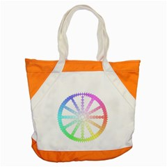Polygon Evolution Wheel Geometry Accent Tote Bag by Amaryn4rt