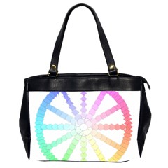 Polygon Evolution Wheel Geometry Office Handbags (2 Sides)  by Amaryn4rt