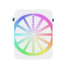 Polygon Evolution Wheel Geometry Apple Ipad 2/3/4 Protective Soft Cases by Amaryn4rt