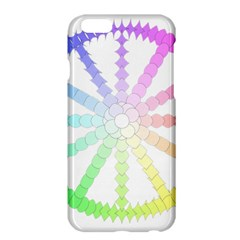 Polygon Evolution Wheel Geometry Apple Iphone 6 Plus/6s Plus Hardshell Case by Amaryn4rt