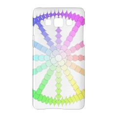 Polygon Evolution Wheel Geometry Samsung Galaxy A5 Hardshell Case  by Amaryn4rt