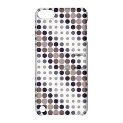 Circle Blue Grey Line Waves Black Apple Ipod Touch 5 Hardshell Case With Stand by Alisyart