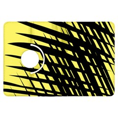 Doodle Shapes Large Scratched Included Kindle Fire Hdx Flip 360 Case by Alisyart