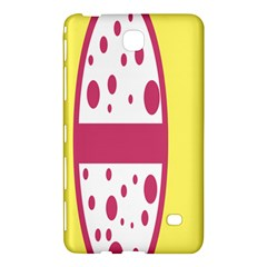 Easter Egg Shapes Large Wave Pink Yellow Circle Dalmation Samsung Galaxy Tab 4 (7 ) Hardshell Case  by Alisyart