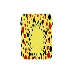 Gradients Dalmations Black Orange Yellow Apple Ipad Mini Protective Soft Cases by Alisyart