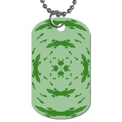 Green Hole Dog Tag (two Sides) by Alisyart