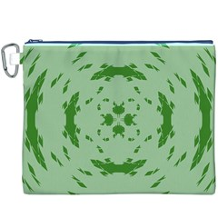 Green Hole Canvas Cosmetic Bag (xxxl) by Alisyart