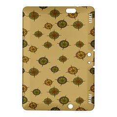 Compass Circle Brown Kindle Fire Hdx 8 9  Hardshell Case by Alisyart