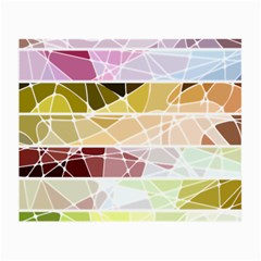Geometric Mosaic Line Rainbow Small Glasses Cloth (2 Side) by Alisyart
