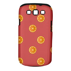 Oranges Lime Fruit Red Circle Samsung Galaxy S Iii Classic Hardshell Case (pc+silicone) by Alisyart