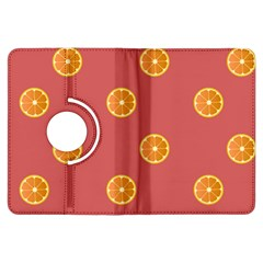Oranges Lime Fruit Red Circle Kindle Fire Hdx Flip 360 Case by Alisyart