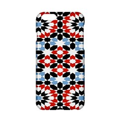 Oriental Star Plaid Triangle Red Black Blue White Apple Iphone 6/6s Hardshell Case by Alisyart