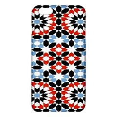 Oriental Star Plaid Triangle Red Black Blue White Iphone 6 Plus/6s Plus Tpu Case by Alisyart