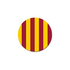 Red Yellow Flag Golf Ball Marker (10 Pack) by Alisyart