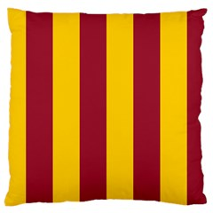 Red Yellow Flag Large Cushion Case (two Sides) by Alisyart