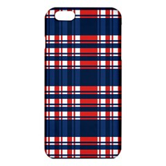 Plaid Red White Blue Iphone 6 Plus/6s Plus Tpu Case by Alisyart