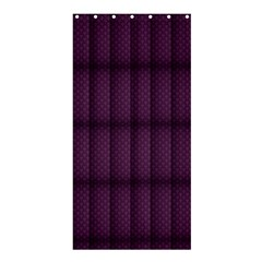 Plaid Purple Shower Curtain 36  X 72  (stall)  by Alisyart