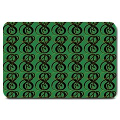 Abstract Pattern Graphic Lines Large Doormat  by Amaryn4rt