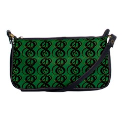Abstract Pattern Graphic Lines Shoulder Clutch Bags by Amaryn4rt