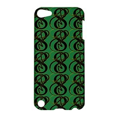 Abstract Pattern Graphic Lines Apple Ipod Touch 5 Hardshell Case by Amaryn4rt