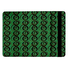Abstract Pattern Graphic Lines Samsung Galaxy Tab Pro 12 2  Flip Case by Amaryn4rt