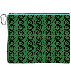 Abstract Pattern Graphic Lines Canvas Cosmetic Bag (xxxl) by Amaryn4rt