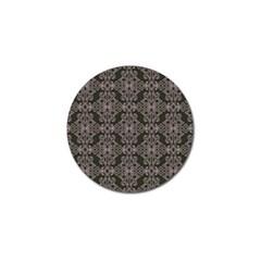 Line Geometry Pattern Geometric Golf Ball Marker (4 Pack)