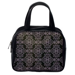 Line Geometry Pattern Geometric Classic Handbags (one Side)