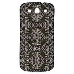 Line Geometry Pattern Geometric Samsung Galaxy S3 S Iii Classic Hardshell Back Case by Amaryn4rt