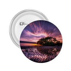 Landscape Reflection Waves Ripples 2 25  Buttons by Amaryn4rt