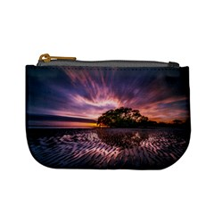 Landscape Reflection Waves Ripples Mini Coin Purses by Amaryn4rt