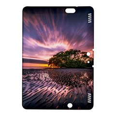 Landscape Reflection Waves Ripples Kindle Fire Hdx 8 9  Hardshell Case by Amaryn4rt